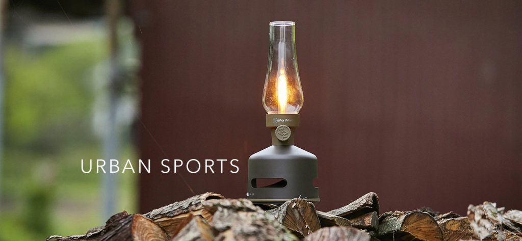 Morimori LED Lantern Speaker URBAN SPORTS